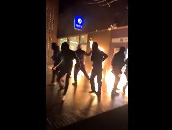 Erneut-schwere-Migrantenkrawalle-in-Brssel-Videos