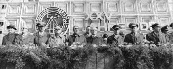 Das Corona-Komitee tagt - und die Sprache der DDR ist zurück