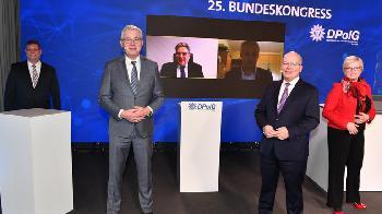 Polizeigewerkschaft: Rainer Wendt erneut zum Bundesvorsitzenden gewählt