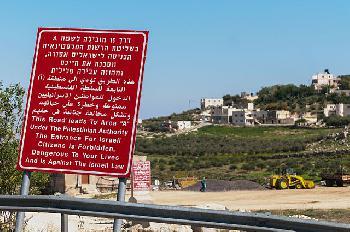 Lasst uns anfangen von unseren Rechten in Jerusalem, Judäa und Samaria zu reden