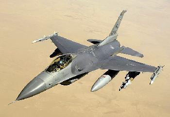 US-Piloten trainieren mit israelischen F16s-Kampfjets [Video]