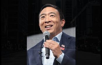 BDS tobt gegen New Yorker Bürgermeisterkandidaten Andrew Yang