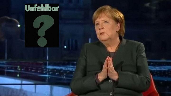 Merkel in der ARD: Unsere Corona-Politik ist fehlerlos – Lockdown bis Ostern! [Video]