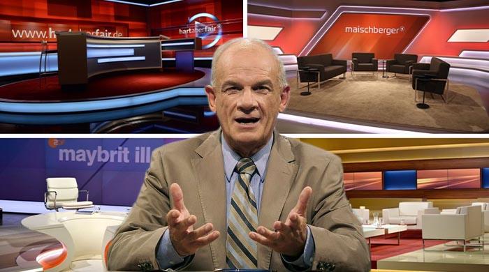 """Peter Hahne: """"Talkshows mutieren zu Regierungs-Hochämtern"""""""