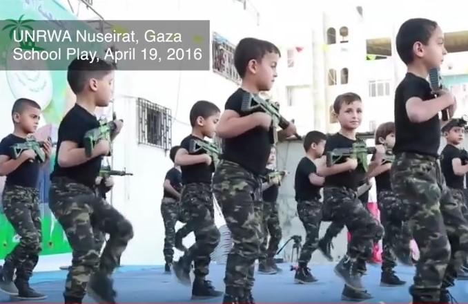 Wie die Palästinensische Autonomiebehörde Kinder als Waffen missbraucht
