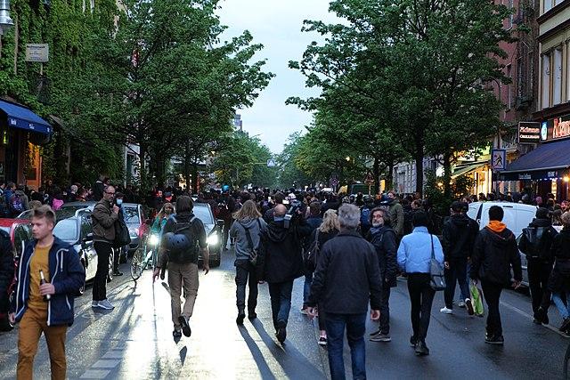 Corona-Proteste in verschiedenen deutschen Städten
