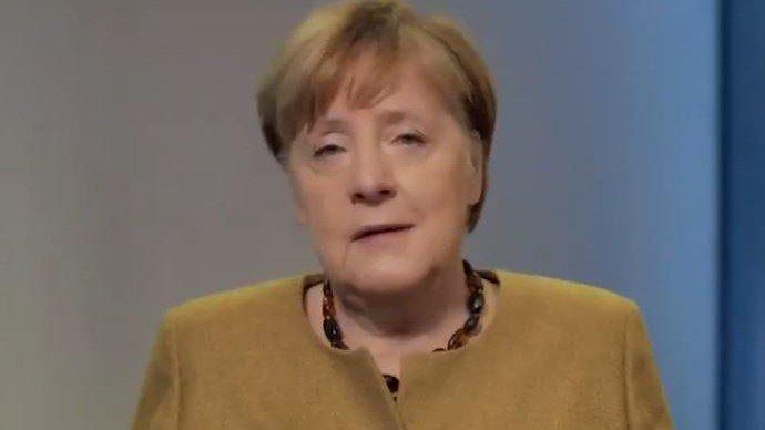 Merkel: Dank Corona liegt Deutschlands goldene Zukunft im einsamen digitalen Lernen!