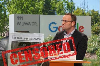 Wie Spahn mit Google die Pressefreiheit abschaffen wollte