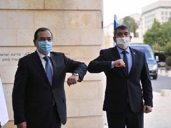 Treffen mit ägyptischem Erdöl-Minister
