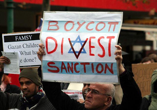 BDS-Gruppen tun sich mit Iran und Hamas gegen Israel zusammen