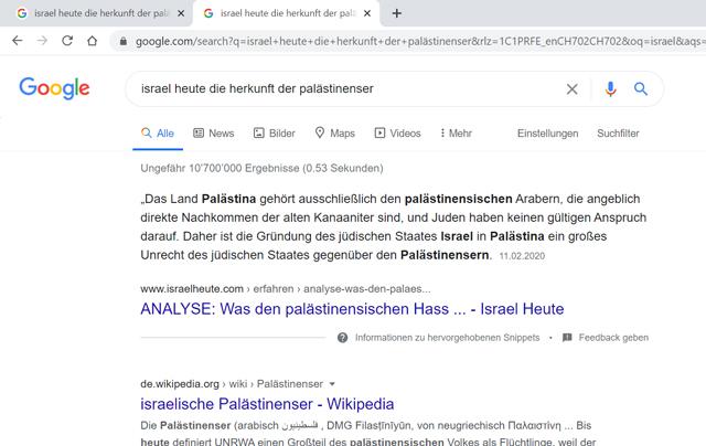 Eine Suchmaschine als Propaganda-Megafon