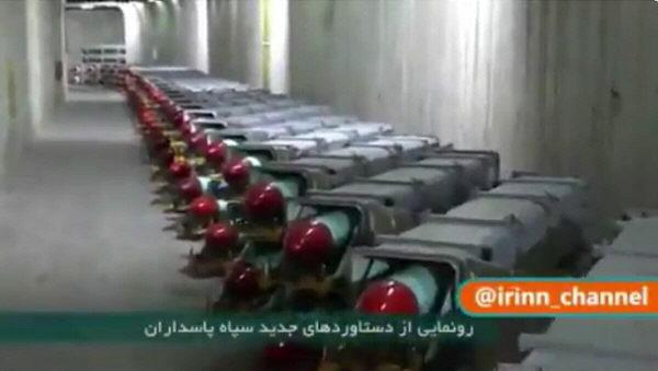 """Iran enthüllt unterirdische """"Raketenstadt"""" der Revolutionsgarden"""