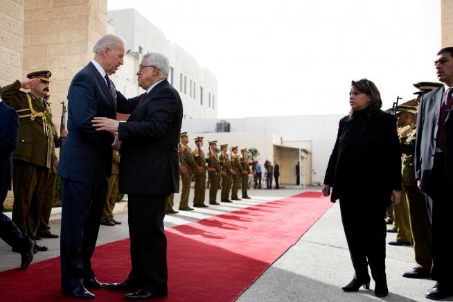 """Biden will """"Reset-Knopf"""" in Beziehung zu Palästinensern drücken"""