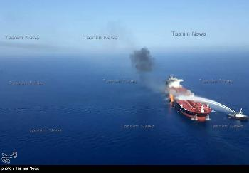 Israelisches Schiff nach Explosionen zur Reparatur im Hafen von Dubai