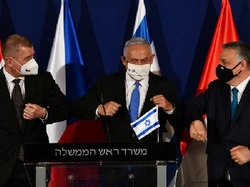Premier Netanyahu bei trilateralem Gipfeltreffen