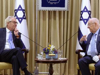 Präsident Rivlin trifft neuen UN-Sonderkoordinator