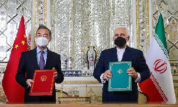 Iran-China-Abkommen: Sorge über militärische Zusammenarbeit