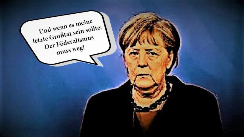 """Merkels Neufassung des """"Ermächtigungsgesetzes"""": Lässt sich der Angriff auf den Föderalismus noch stoppen?"""