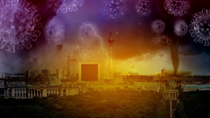 Deutschland im Katastrophen-Delirium