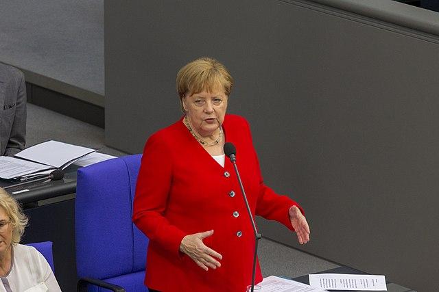 Merkel im Endgame