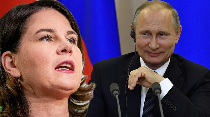 """Mit """"Unternehmen Baerbock"""" gen Russland"""