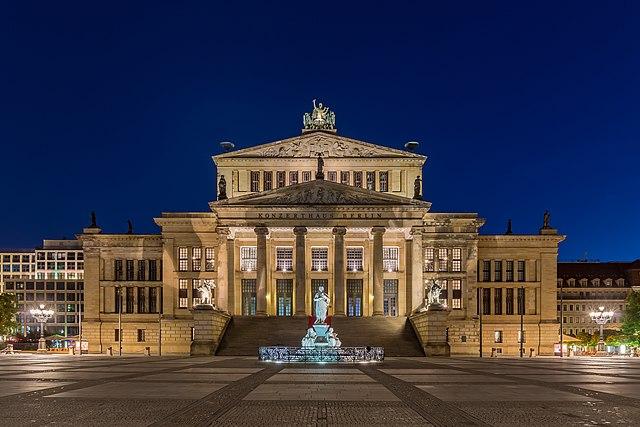 Lenk ich durch Deutschland in der Nacht