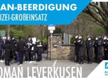Clan-Beerdigung sorgt für Großeinsatz der Polizei [Video]