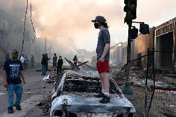 USA: Ausschreitungen nach Polizei-Einsatz