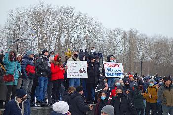 Tausend Festnahmen bei Protesten in Russland
