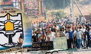 Arabische-Demonstranten-Lass-die-ganze-Welt-brennen