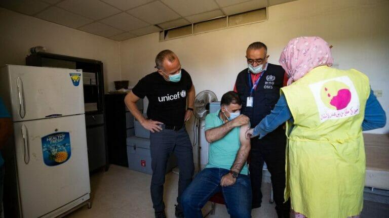 Syrien: Kurdische Gebiete im Norden noch ohne Corona-Impfstoffe