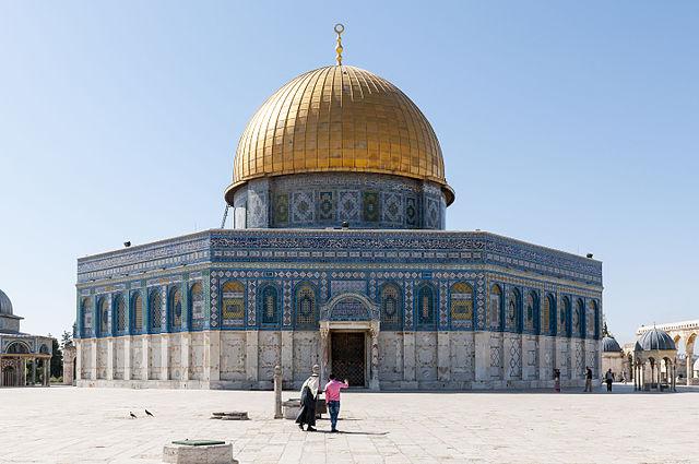 """Hamas beschießt auch """"ihr"""" (?) Heiliges Jerusalem"""