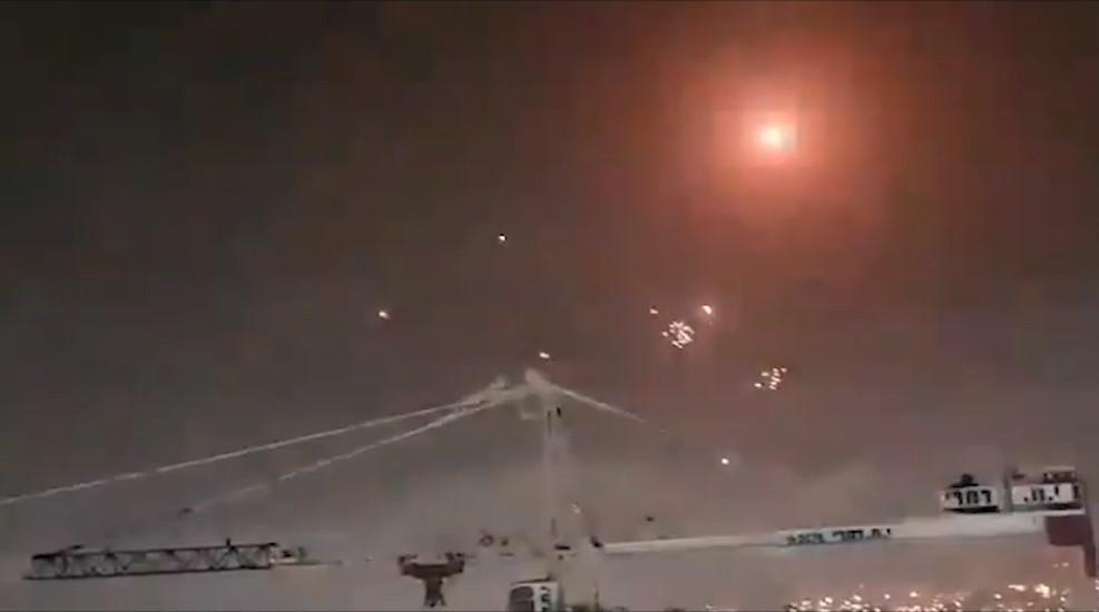 190 Raketen wurden über Nacht auf Israel abgefeuert