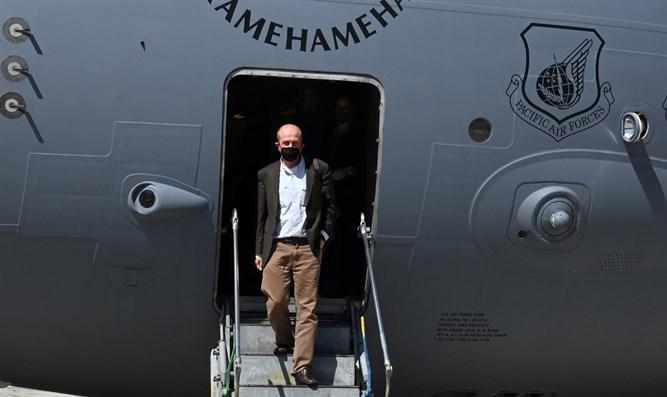 Der stellvertretende US-Außenminister kommt in Israel an