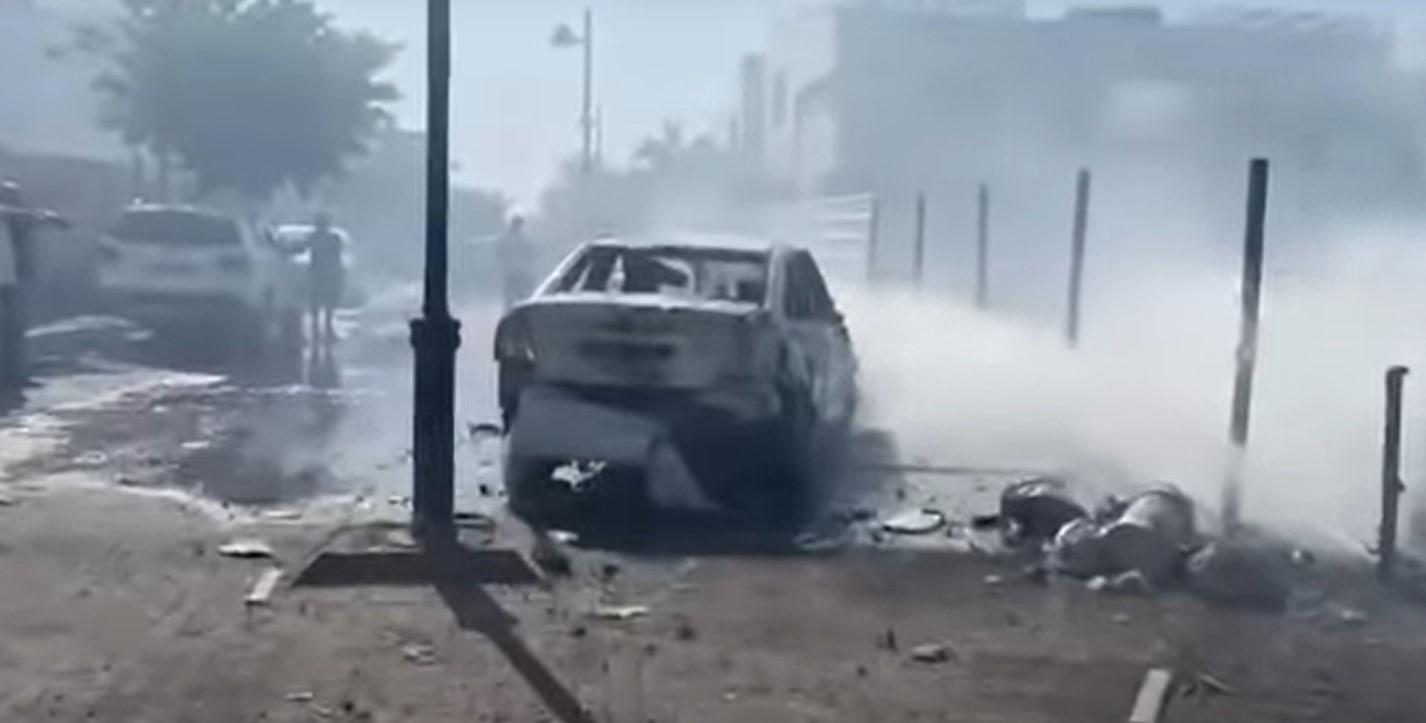 Sperren in Ashdod, Ashkelon, Lahish; Rakete explodiert auf der Straße in Netivot [Video]