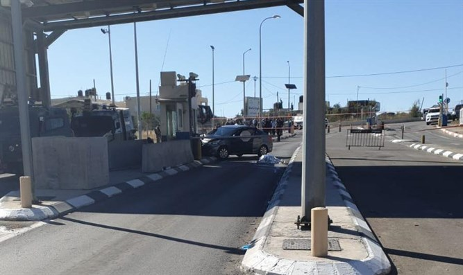 Versuch eines Rammangriffs in der Nähe von Hebron