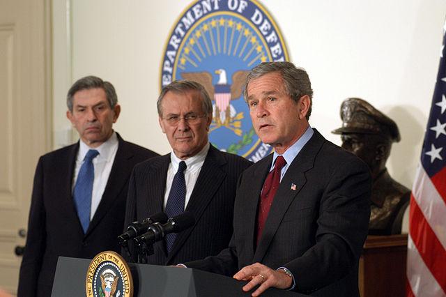 George W. Bush: Iranische Waffen und Geld für Hamas Gewalt gegen Israel
