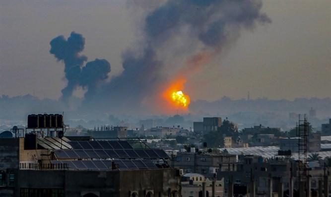 Vor dem Bombenangriff gewarnt, zu evakuieren, sagt Gazan: Wir wollen sterben