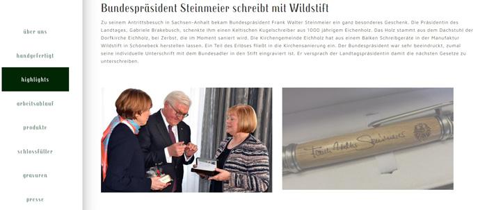 """Der Bundespräsident und das Geheimnis des """"antisemitischen"""" Kugelschreibers"""