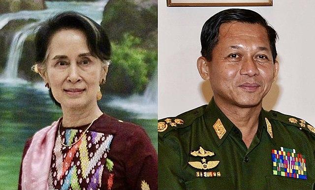 Aung San Suu Kyi erschien erstmals vor Gericht