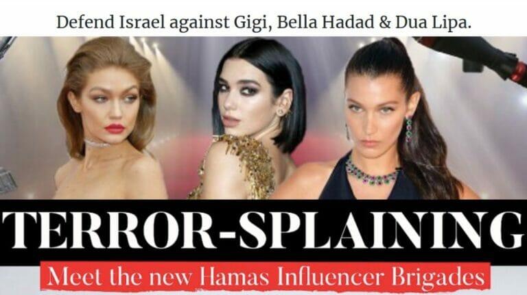 Antisemitismus: Die gefährliche Propaganda von Gigi und Bella Hadid & Co.