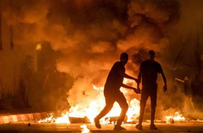 Gewalt in Israel dauert am Donnerstag über Nacht an