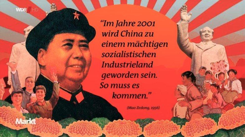 """WDR preist in seiner """"Markt""""-Sendung die Weitsicht des Massenmörders Mao Tse-tung!"""
