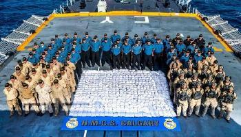Rekord: 1,3 Tonnen Heroin vor der Küste des Oman beschlagnahmt