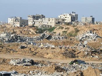 HamasTerroristen-gettet-Hamas-Gebude-zerstrt