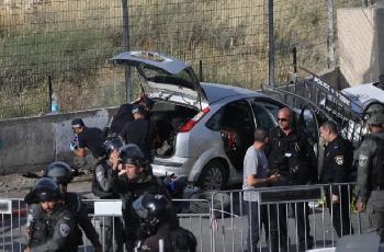 Bei-einem-Terroranschlag-auf-ein-Auto-in-Ostjerusalem-wurden-mehrere-israelische-Polizisten-verletzt
