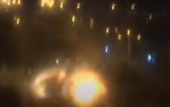 Rocket-fllt-an-der-Kreuzung-von-Ashdod-Video