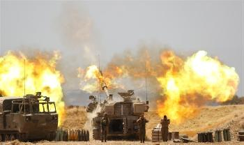 Gaza-IDF-bombadiert-Huser-von-HamasKommandeuren
