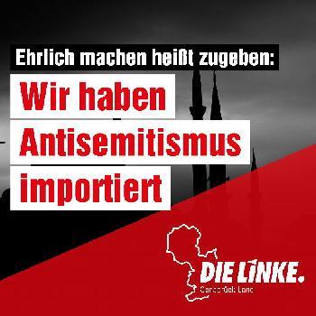 [Foto des Tages] Die Linke und der importierte Antisemitismus