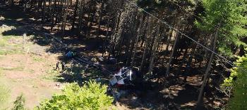9 Tote bei Seilbahn-Unglück in Italien